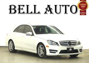 2012 Mercedes-Benz C-Class C250 4MATIC NAVIGATION LEATHER SUNROO