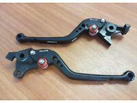 Suzuki Bandit GSF GSX 1250 S 07-17 V-Trec Vario Brake + Clutch Lever Set.