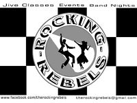 The Rocking Rebels Rock n Roll Jive Club every Monday, Harefield Cricket Club, Uxbridge/Hillingdon
