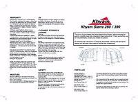 Brand New caravan/van awning (see photo)