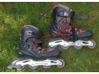 MAUI & Sons inline Skates (red) EU Size 43 UK 9.5