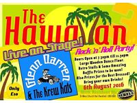 Rock n Roll Band Night Hawaiian Party Harefield/Uxbridge