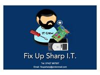 Fix Up Sharp I.T. Home Computer and Hardware Repair
