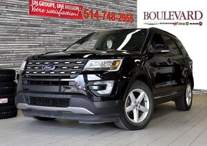 2016 Ford Explorer,XLT + CAMERA + 7 PASSAGERS ECRAN!!!