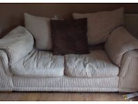 Cream lovely sofa