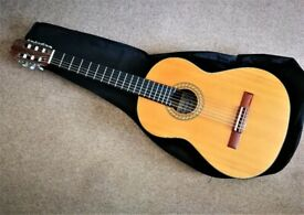GUITAR KIMBARA ACOUSTIC CLASSICAL STYLE FULL SIZE + SOFT CASE