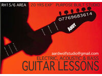 Guitar Lessons - RH15 / RH16 Areas
