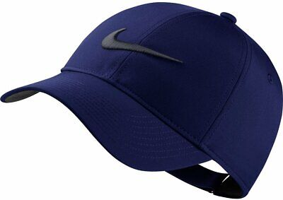 NIKE Women's Legacy 91 Golf Cap - Blue Void - ADJUSTABLE
