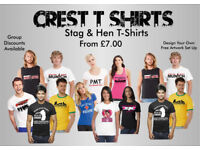 Stag & Hen T-Shirts Printed
