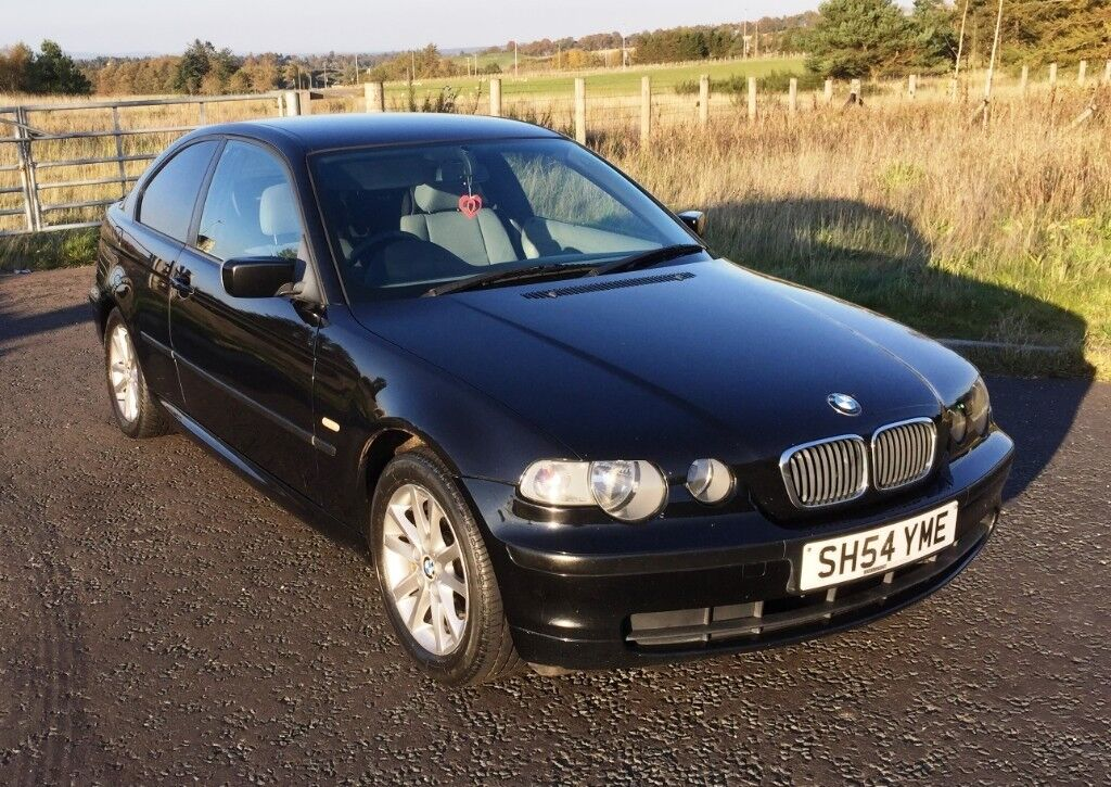 Clearout Price Bmw 316ti Compact 3 Door Hatchback Black M