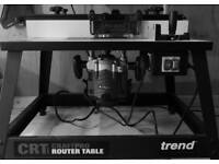 TREND CRT Mk3 CRAFTPRO ROUTER TABLE