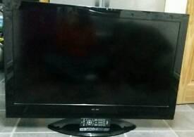 "42"" Hitachi HD LCD TV GOOD WORKING ORDER £110"