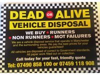 WANTED DEAD OR ALIVE PAID CASH AND TOOK OF YOUR DRIVE