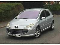 2006 56 Reg Peugeot 307 S 1.6 Petrol 5dr Long MOT Looks & Drives Brill Hpi Clear