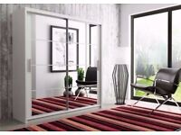 BRAND NEW GERMAN BRAND BERLIN WARDROBE AVAILABLE IN 3 BLACK/WALNUT/WHITE COLOR IN DIFFERENT SIZES