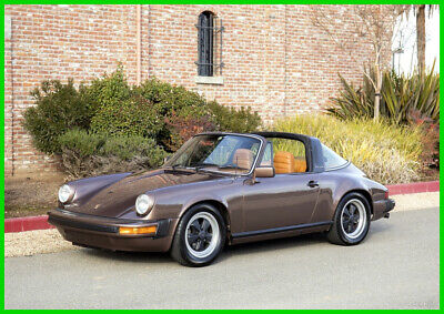1979 PORSCHE 911SC TARGA COUPE RARE COPPER BROWN METALLIC BEAUTIFUL GARAGED COND