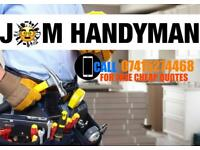 Experience and professional all rounded handymen team.