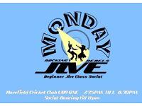 Rock n Roll Jive Class & Dancing every MONDAY Harefield Cricket Club
