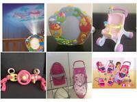 Bundle baby girl toys