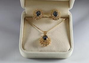 Necklace and Pierced Earring Set