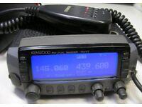 kenwood tm-v7e transceiver radio