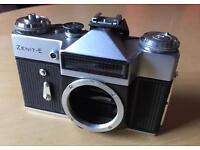 Zenith E collectable 35m Russian camera