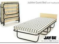 Jay-Be Single folding guest bed with headboard and mattress