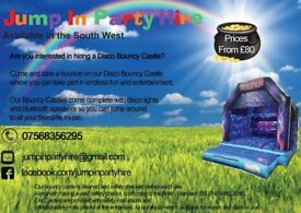 Disco bouncy castle hire includes photo-booths,pinata, characters e.g marvel&Disney and more to come