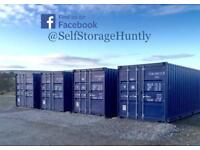 Self Storage Huntly 20ft x 8ft container for Rent (Aberdeenshire)