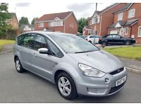 FORD SMAX ZETECH TDCI 2007 DIESEL 6 SPEED GEAR 95000 MILE FULL SERVICE HISTORY 7 SEATER £3190