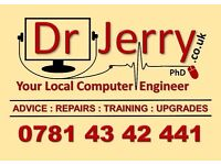 Dr Jerry Computer Engineer Home & Business Servicing & Repair Service