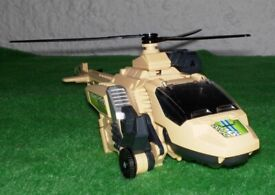 V Tech Switch and Go Dinos Velociriptor / Helicopter