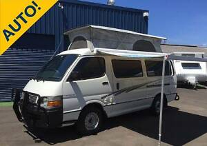 2001 Toyota Hiace Frontline Campervan Automatic North Narrabeen Pittwater Area Preview