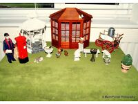 DOLLS HOUSE GARDEN ACCESSORIES FOR COLLECTORS