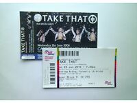 LESS THAN FACE VALUE Take That Tickets Birmingham Genting Arena Friday 05/05/17