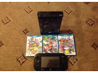 Wii U With 3 Games