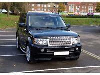 Land Rover RANGE ROVER SPORT 2.7 Diesel Black AUTO FSH Land Rover Genuine Low Mileage