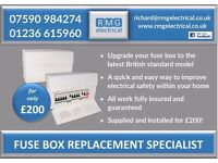 **FUSE BOX UPGRADES £200** 07590984274