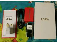 Empty box LG G4H815 32GB with accessories