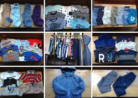 MASSIVE BOYS CLOTHES BUNDLE AGE 4-5 ***IMMACULATE CONDITION*** PRICE REDUCED TO £50