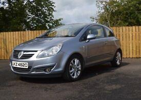 Vauxhall Corsa 1.7 CDTI SXI A/C #102k# Long MOT# F.S.H# Sunroof Model(polo ibiza yaris fabia fiesta)