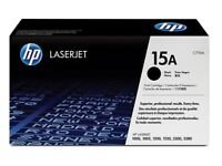 HP 15A Black Original LaserJet Toner Cartridge (C7115A)
