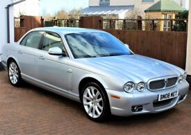 Jaguar XJ6 3.0 V6 Sovereign Automatic, 42691 Miles, Excellent Service History, Sat Nav, Immaculate