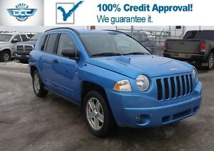 2008 Jeep Compass Sport/North 4WD!! Low KM'S!! Low Payments!!
