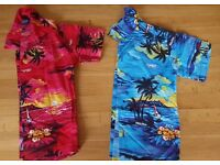 3 x Boys Hawaiian Shirts and a Pair of shorts (From Hawaii) Age 6