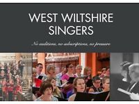 New community choir in Trowbridge, West Wiltshire - no auditions, no pressure!