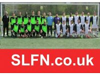 Sunday football team looking for new players, find soccer in London, JOIN 11 ASIDE LONDON TEAM