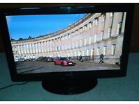 Panasonic 37-inch plasma TV (720p HD ready, freeview)