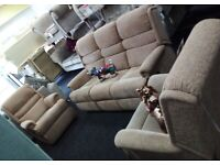 Brand newe sherbourne recliner sofa chairs x2 delivery available bargain