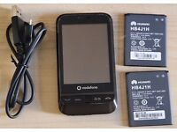 Smart Phone, Mobile Used in good condition, Android + 2 x batteries + usb charger
